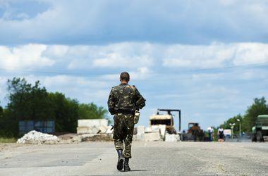 Украинские силовики уничтожили автоколонну террористов