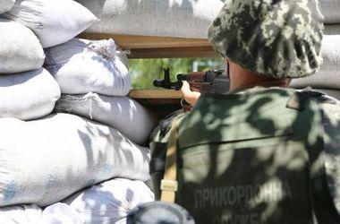 """Террористы обстреляли украинских пограничников возле пропускного пункта """"Должанский"""""""