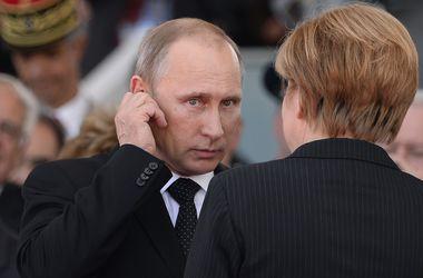 Олланд и Меркель просят Путина повлиять на сепаратистов