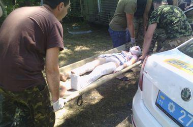 Возле Краматорска на фугасном снаряде подорвался автомобиль с семьей
