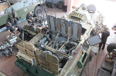 150 единиц военной техники поврежденной в АТО восстановили ремонтники из Николаева