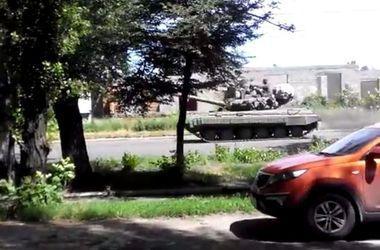 В Луганской области замечены 20 российских танков - Нацгвардия