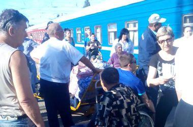 По дороге из Славянска в Одессу погибли 9 инвалидов-колясочников