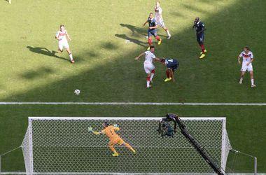 Сборная Германии стала первым полуфиналистом ЧМ-2014