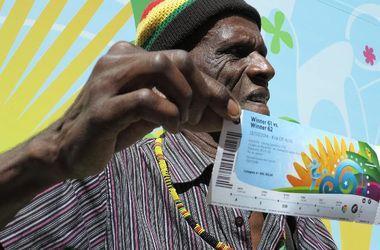 85-летний бразилец потерял билеты на финал ЧМ-2014, подаренные ФИФА