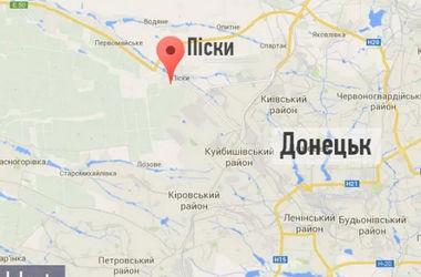 Под Донецком идут бои. Карта боевых действий.
