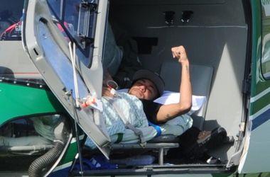 Владимир Кличко поддержал травмированного форварда сборной Бразилии