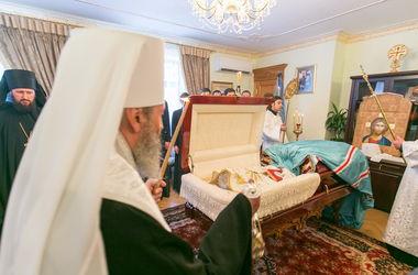 Стало известно, где похоронят митрополита Владимира