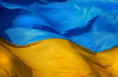 Над милицией Константиновки поднят государственный флаг  Украины