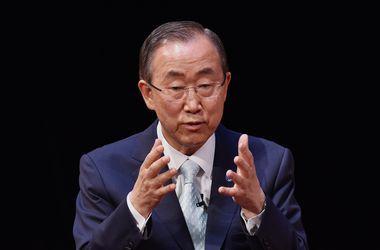 Генсек ООН требует прекратить огонь на востоке
