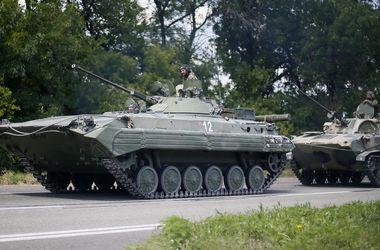 Ночью боевики четыре раза обстреливали блокпосты сил АТО из минометов и артиллерии