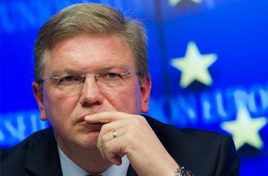 ЕС обеспокоен гуманитарной ситуацией в Украине - Фюле
