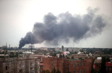 Луганск в огне: все подробности