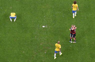 """Бразильские СМИ назвали """"позором из позоров"""" поражение от Германии на ЧМ-2014"""