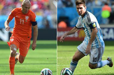 Голландия vs Аргентина: бой пятиклассников