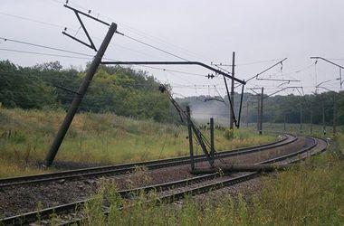 В Донецкой области - очередной взрыв на ж/д дороге