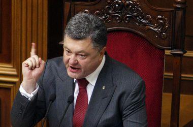 Порошенко гарантировал, что украинский язык будет единственным государственным