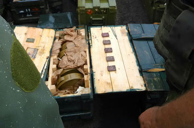 Бойцы АТО  обнаружили 600 тысяч патронов и боеприпасов на складе сепаратистов в Славянске - МВД