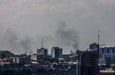 Стрельба возле Донецкого аэропорта утихла, - очевидцы