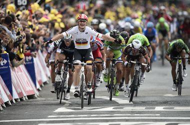 """Андре Грайпель выиграл шестой этап """"Тур де Франс"""""""