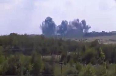 Военная авиация уничтожила базу террористов на шахте в Луганской области