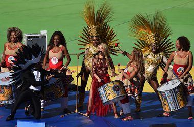 Церемония закрытия чемпионата мира в Бразилии