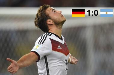 Четвертая звезда для Германии - немцы стали чемпионами мира-2014