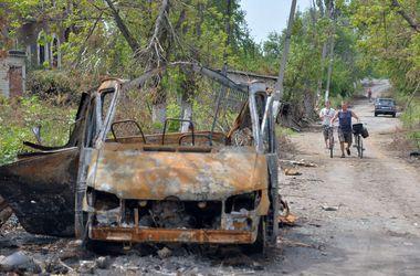 В окрестностях Славянска находят неопознанные останки боевиков