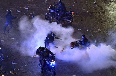 После финала аргентинские болельщики устроили беспорядки в Буэнос-Айресе