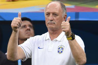 Сколари покинул пост тренера сборной Бразилии