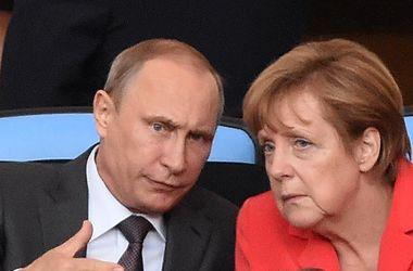 Меркель с Путиным посмотрели финал ЧМ