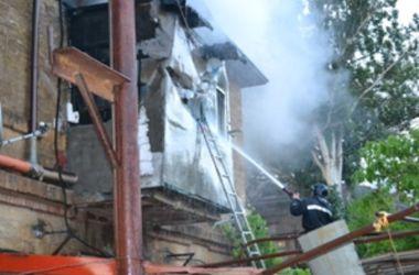 В одесском санатории с семьями крымских пограничников произошел взрыв и пожар