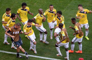 Сборная Колумбии получила награду за честную игру