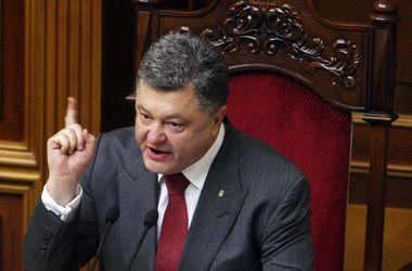 Порошенко заявил, что хочет изменить тактику АТО