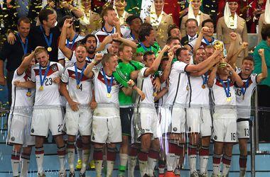 Германия за победу на ЧМ-2014 заработала 35 миллионов