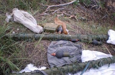 В Харьковской области нашли тайник террористов с ПЗРК