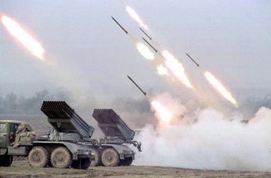"""От залпа """"Града"""" под Амвросиевкой силы АТО потеряли 10 бойцов"""