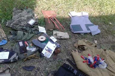 На  Донбассе  правоохранители обнаружили цех по изготовлению фугасов