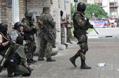На   Донбассе  боевики уничтожают инфраструктуру и устанавливают огневые точки в школах