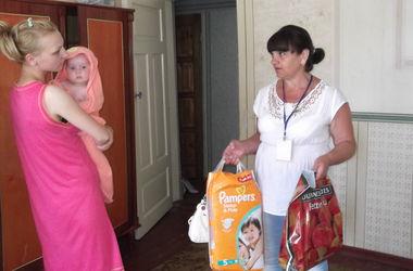 Переселенцев с Донбасса в Кривом Роге обеспечили медобслуживанием