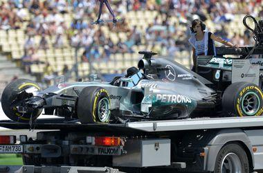 Нико Росберг выиграл квалификацию домашнего Гран При