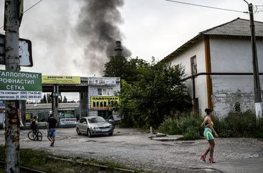 В Донецке звучат мощнейшие взрывы