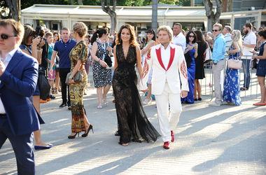 Новая волна 2014: Николай Басков впервые показал новую возлюбленную
