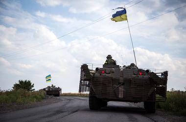 События в Донбассе: силы АТО укрепили позиции в пригороде Донецка