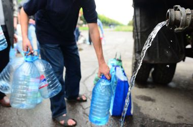 Запаса воды для жителей Донецка и Макеевки хватит только на несколько дней