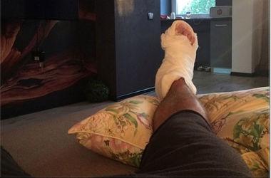 "Форвард ""Ворсклы"" сломал ногу перед матчем с ""Динамо"""