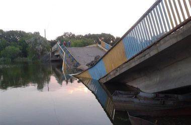 Оперативная сводка по Луганской области: взорвано два моста через Лугань