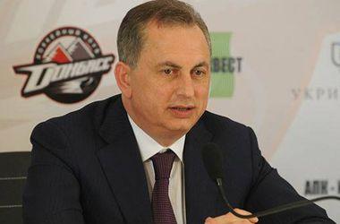 """Президент ХК """"Донбасс"""" о будущем клуба: """"Вернется мир - вернется хоккей"""""""