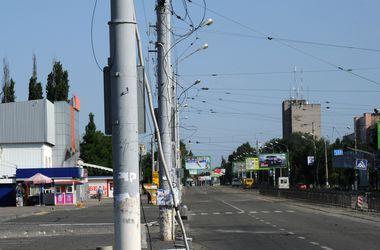 Больше половины жителей Луганска остались без электричества