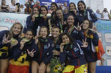 Испанки выиграли чемпионат Европы по водному поло